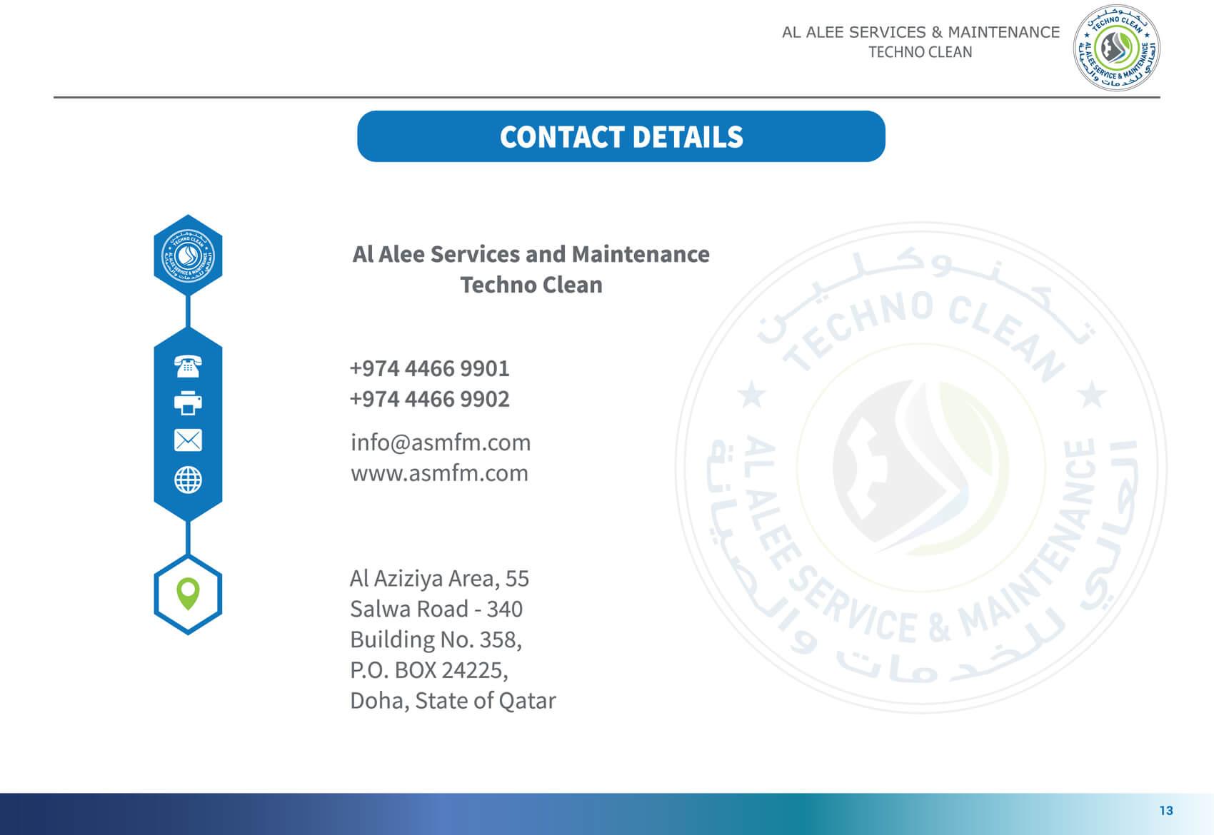 Al Alee Company Profile 14th page