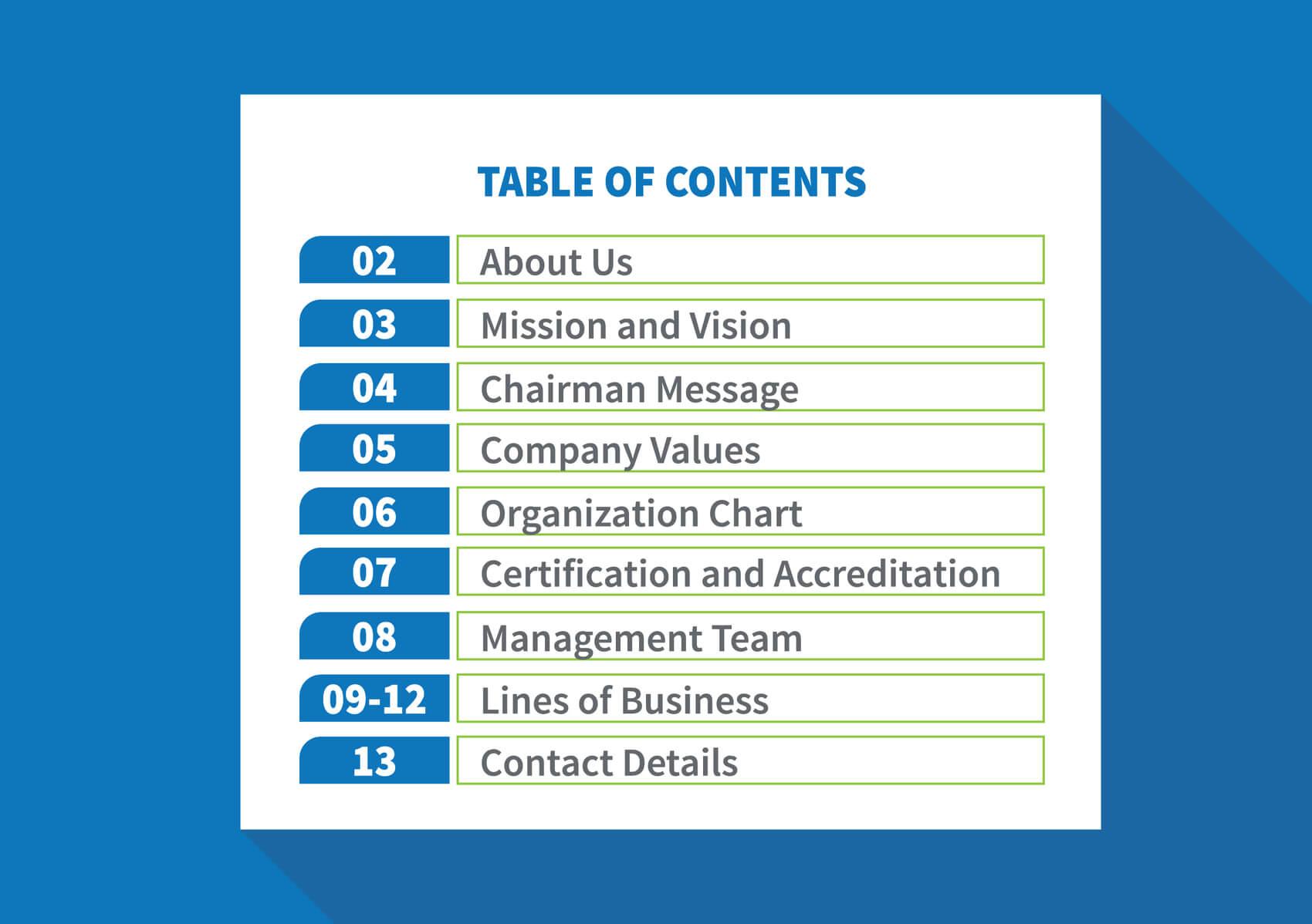 Al Alee Company Profile 2nd page